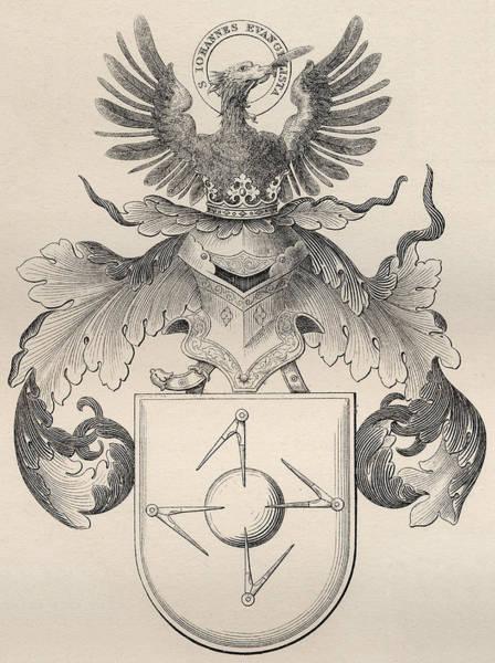 Armor Drawing - Masonic Seal by English School