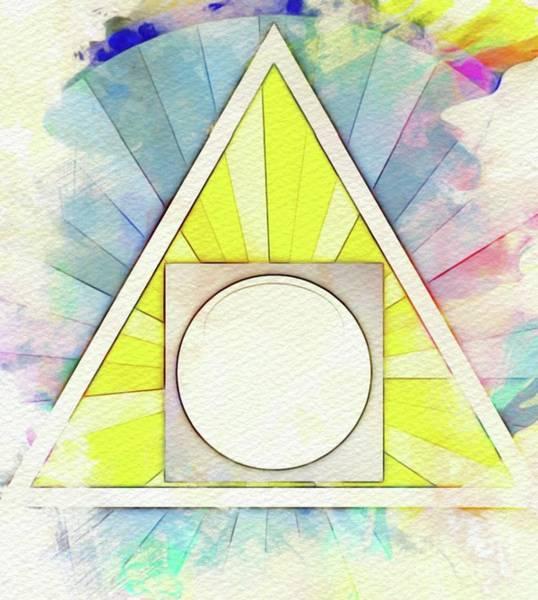 Masonic Wall Art - Painting - Masonic Symbolism - Alchemy by Pierre Blanchard