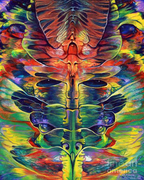 Painting - Masqparade 1 by Ricardo Chavez-Mendez