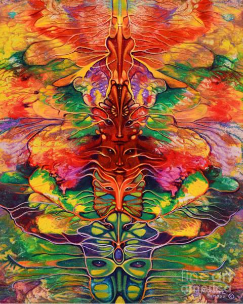 Painting - Masqparade 5 by Ricardo Chavez-Mendez