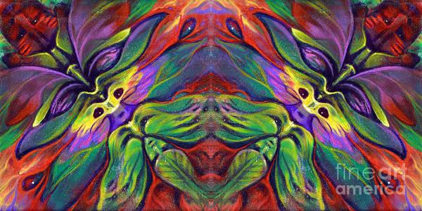Painting - Masqparade Tapestry 7b by Ricardo Chavez-Mendez