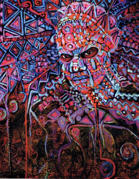 Masque Number 5 Art Print
