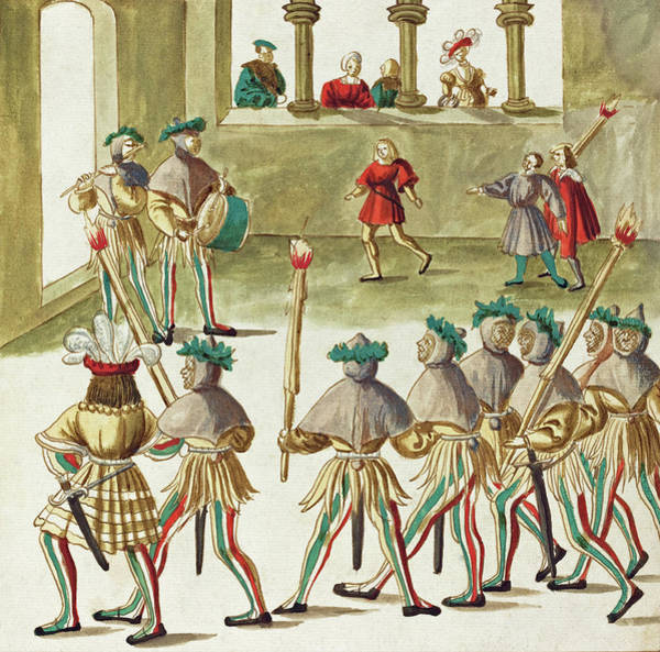 Painting -  Masquerade #10 by German 16th Century