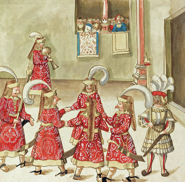 Painting -  Masquerade #15 by German 16th Century