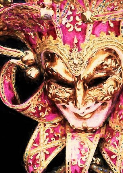 Digital Art - Masquerade 7 by Charmaine Zoe