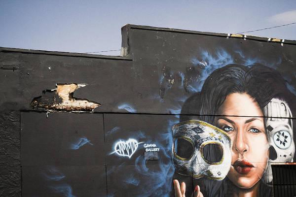 Hammer Head Shark Wall Art - Painting - Masquerade  by Alexandra Horta