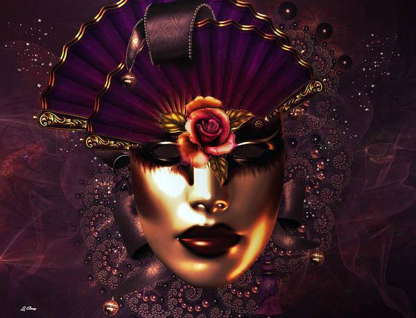 Joyous Mixed Media - Masquerade Ball by G Berry