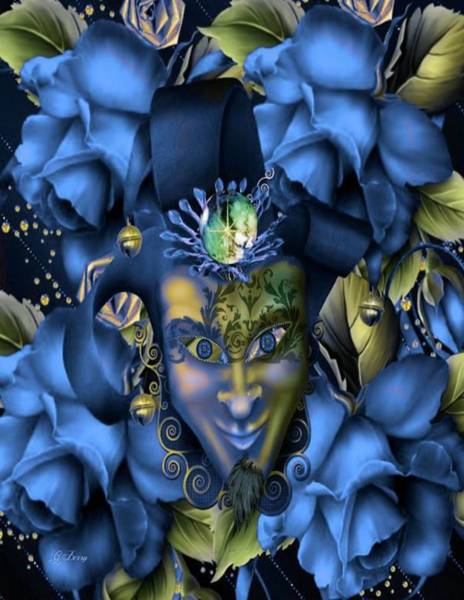 Blue Berry Photograph - Masquerade Blues by G Berry