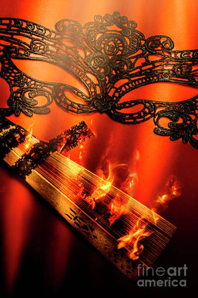 Fire Ball Wall Art - Photograph - Masquerade Of Passion by Jorgo Photography - Wall Art Gallery