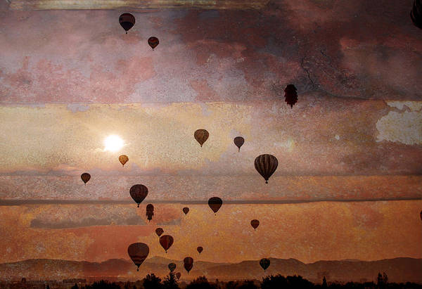 Photograph - Mass Ascension by Rick Mosher