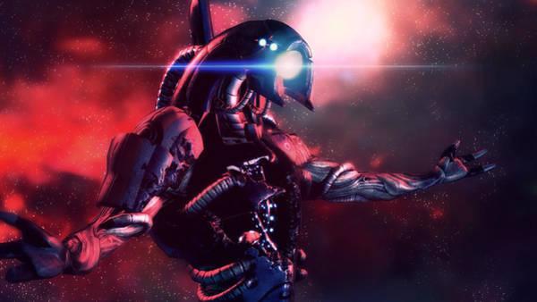 Sports Digital Art - Mass Effect 3 by Super Lovely