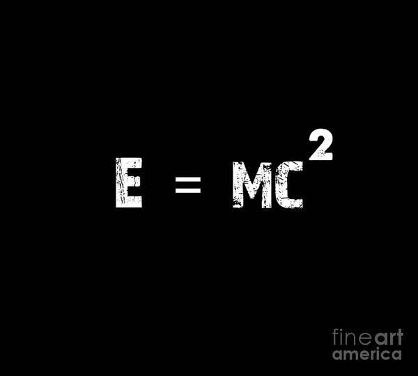 Mass-energy Equivalence Wall Art - Painting - Mass Energy Equivalence Poster by Celestial Images