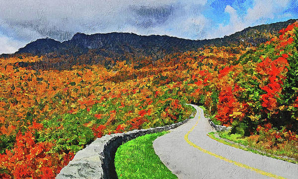 Painting - Massachusetts - Autumn Colors 03 by Andrea Mazzocchetti