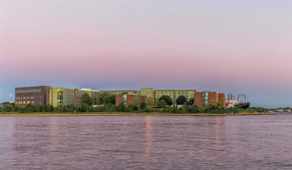 Photograph - Massachusetts Maritime Academy At Sunset by Brian MacLean