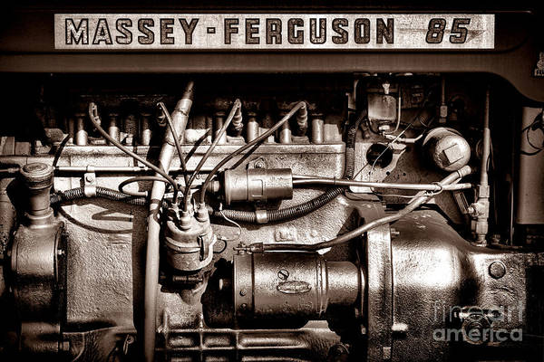 Wall Art - Photograph - Massey Ferguson 85 by Olivier Le Queinec