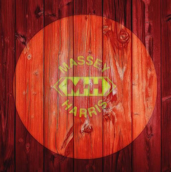 Wall Art - Digital Art - Massey Harris Barn Door by Dan Sproul
