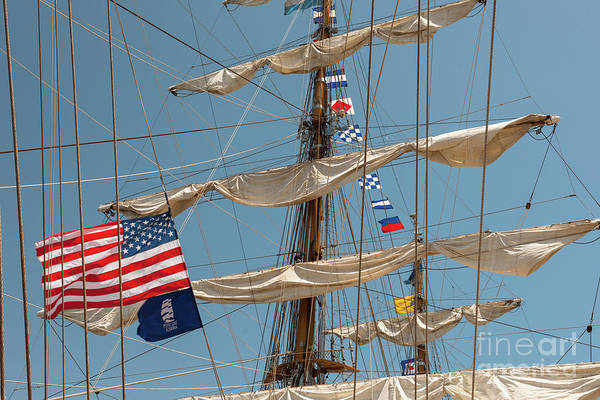 Photograph - Mast Flags by Dale Powell