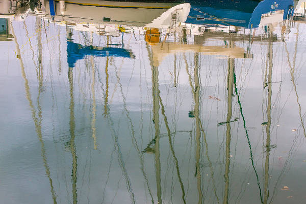Photograph - Masts Reflection by Clare Bambers
