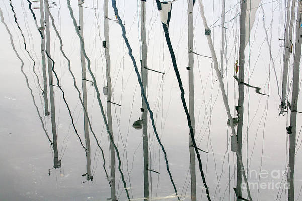 Wall Art - Photograph - Masts by Sheila Smart Fine Art Photography