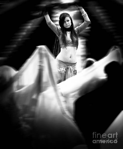 Belly Dancers Photograph - Mata Hari by Bob Orsillo