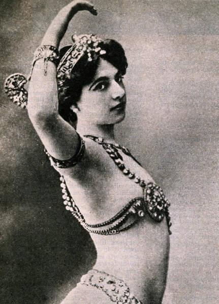 Wwi Photograph - Mata Hari by French School