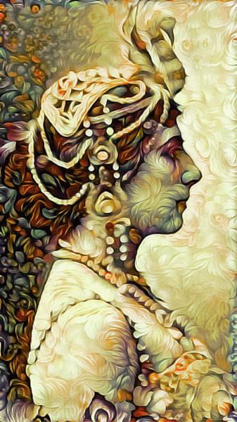 Mixed Media - Mata Hari by Susan Maxwell Schmidt