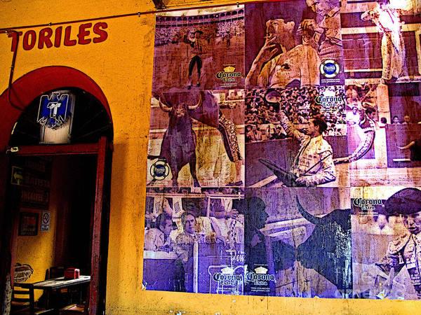Matador Photograph - Matador Mural by Mexicolors Art Photography