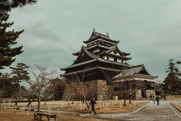 Feudal Japan Wall Art - Photograph - Matsue Castle by Valerie Rosen