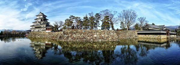 Photograph - Matsumoto Castle Panorama by Kuni Photography