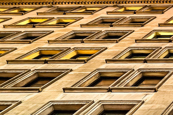 Photograph - Matter Of Perspective - Architecture Of Manhattan by Mark E Tisdale