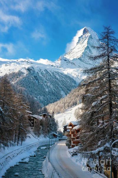 Village Creek Photograph - Matterhorn  by Brian Jannsen