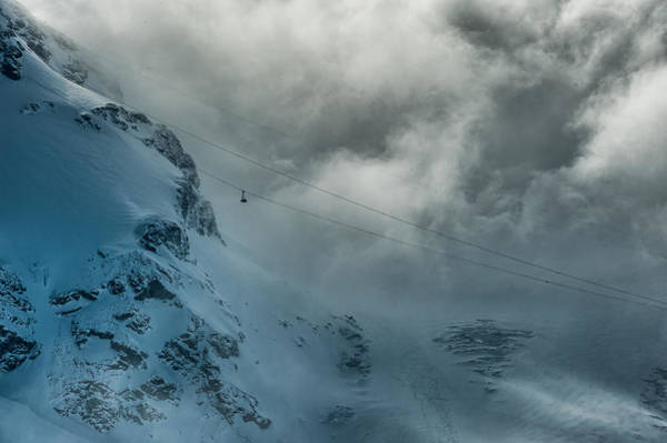 Photograph - Matterhorn Glacier Paradise Cable Car by Brenda Jacobs