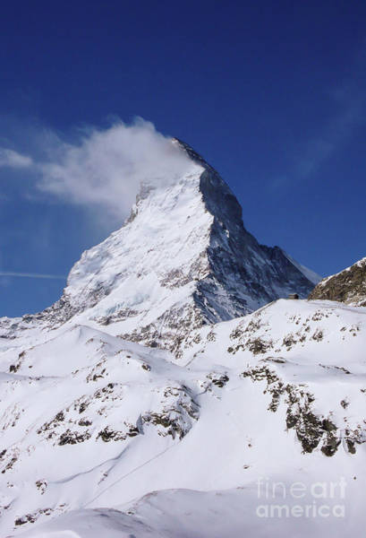Swiss Alps Wall Art - Photograph - The Horn by DiFigiano Photography