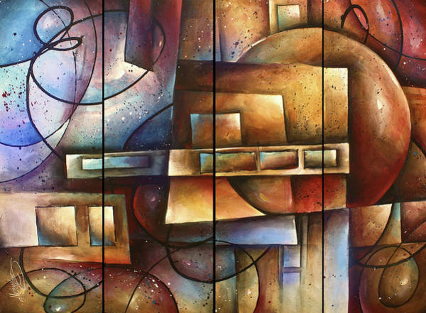 Wall Art - Painting - 'matters Of Perception' by Michael Lang