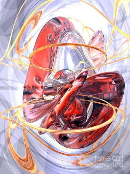 Wall Art - Digital Art - Matters Of The Heart Abstract by Alexander Butler