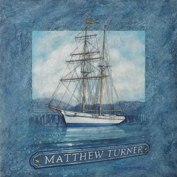 Sausalito Painting - Matthew Turner 2018 by Tom Taneyhill