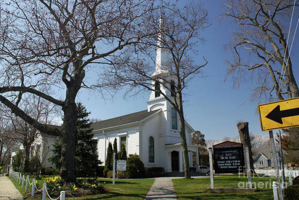 Photograph - Mattituck Presbyterian Church by Steven Spak