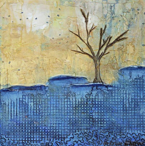 Pale Blue Dot Wall Art - Mixed Media - Maturation by Heather Haymart