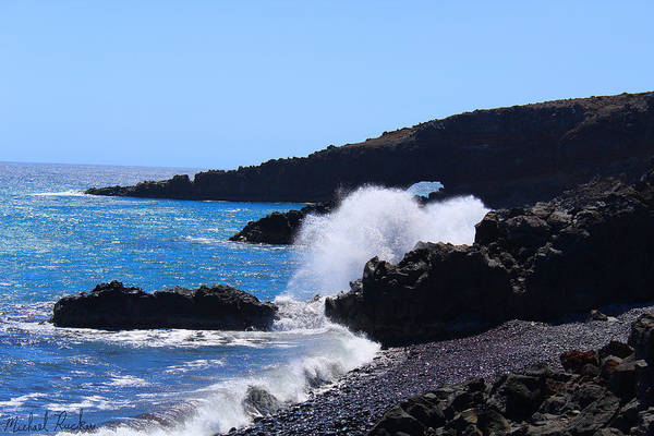 Ocean Wall Art - Photograph - Maui Island Cove by Michael Rucker