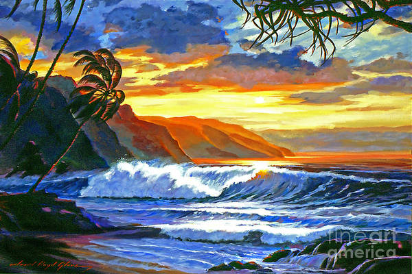 Painting - Maui Magic by David Lloyd Glover