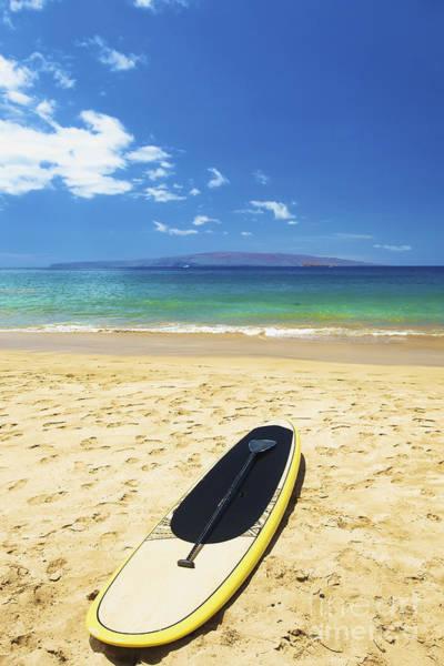 Wall Art - Photograph - Maui Stund Up Paddle Board by Kicka Witte