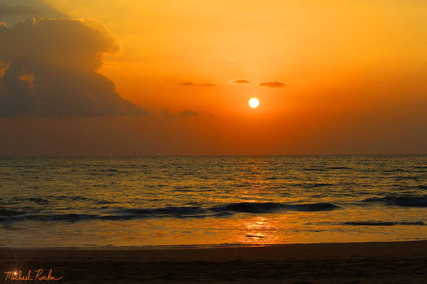 Ocean Wall Art - Photograph - Maui Sunset by Michael Rucker