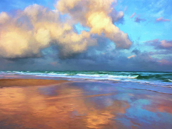 Painting - Maui Sunset Rain by Dominic Piperata