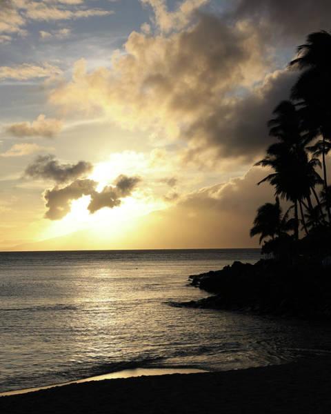Maui Sunset Vertical Art Print