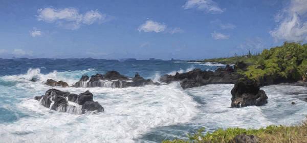 Digital Art - Maui Waters II by Jon Glaser