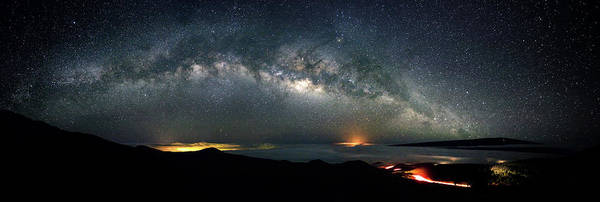 Milky Way Wall Art - Photograph - Mauna Kea Milky Way Panorama by Christopher Johnson