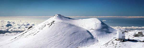 Photograph - Mauna Kea Snow by Christopher Johnson