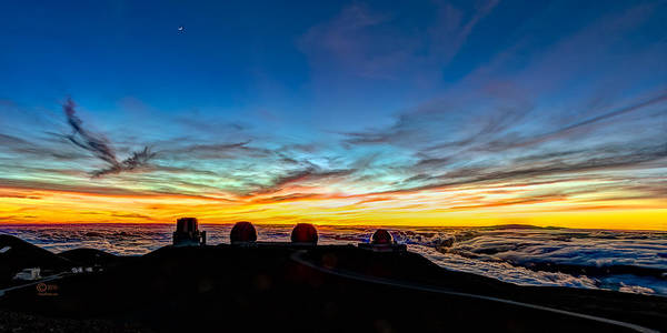 Photograph - Mauna Kea Sunset by Jim Thompson