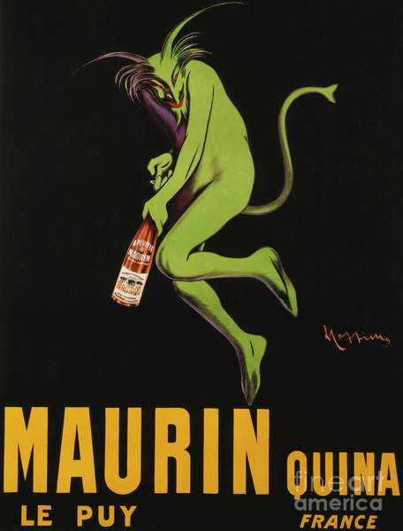 Satan Painting - Maurin Quina by Leonetto Cappiello