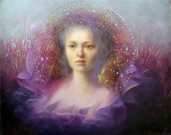 Wall Art - Painting - Mauve Dream by Loretta Fasan